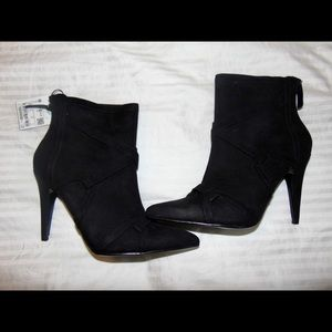 Zara black ankle boot
